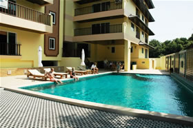 Jomtien Beach Residence Pool